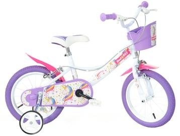 "Laste jalgratas Bimbo Bike 77324 16"" White Violet"