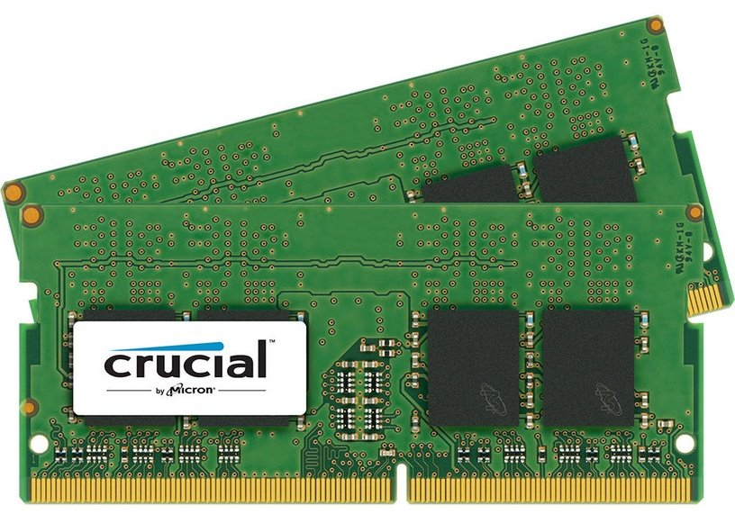 Crucial 16GB 2400MHz DDR4 CL17 SODIMM KIT OF 2 CT2K8G4SFD824A