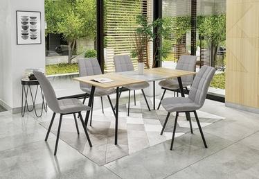Halmar Fold-Out Table Albon Sonoma/Grey Oak