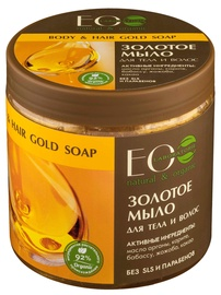 Крем для душа ECO Laboratorie Body And Hair Gold Soap, 450 мл