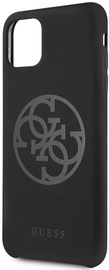 Guess 4G Tone On Tone Back Case For Apple iPhone 11 Pro Max Black