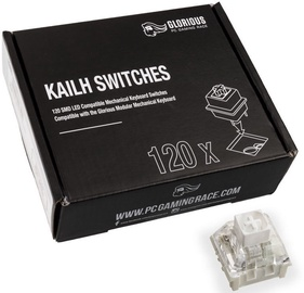 Glorious PC Gaming Race Kailh White Switches 120pcs
