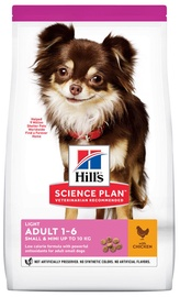 Hill's Science Plan Light Adult Dog Food w/ Chicken 6kg