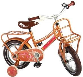 "Laste jalgratas Volare Lovely Stars 81228, kuldne, 12"""