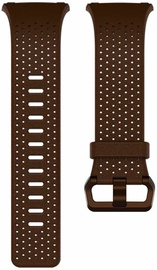Fitbit Ionic Perforated Horween Leather Band Cognac Small