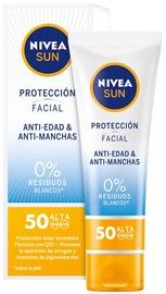 Päikesekreem Nivea Sun Facial Protection Anti-Ageing & Anti-Blemish SPF50, 50 ml