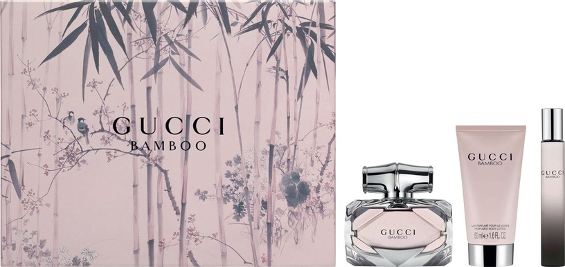 Gucci Bamboo 75ml EDP + 100ml Body Lotion + 7.4ml EDP