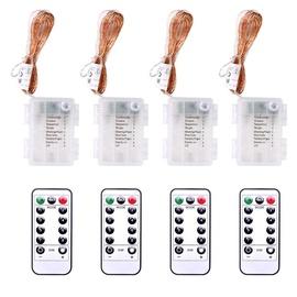 Электрическая гирлянда DecoKing LED Micro, теплый белый, 4x5 м