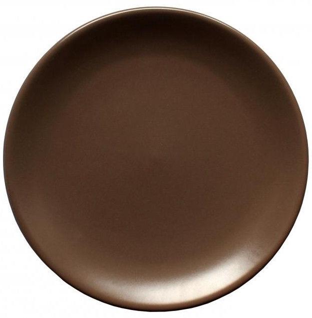 Cesiro Wood Dessert Plate 20cm Brown