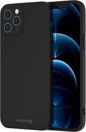 Swissten Soft Joy Silicone Case Apple iPhone 12 Pro Max Black