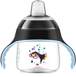 Philips Avent Sip No Drip 200ml Black SCF 751/03