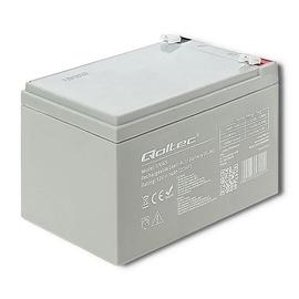 Qoltec AGM Battery 12V 14Ah Max 210A