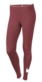Nike Club Legging Logo 815997 897 Bordo L