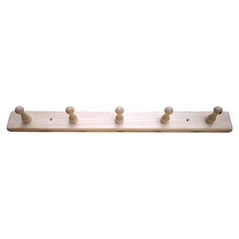 SN Sauna Towel Rack 5 Hooks 500x40x40mm