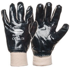 Monte Gloves With Full Nitrile Coating 10 Black