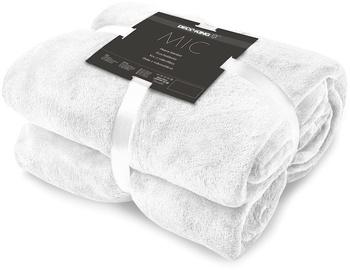 Одеяло DecoKing Mic White, 160x210 см