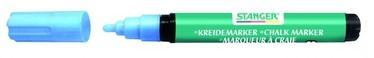 Stanger Chalk Marker 3-5mm 4pcs Blue 620025