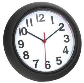 Platinet Sunday Decorate Wall Clock Black