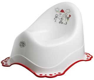 Maltex Baby Chamber Pot White/Red 5825