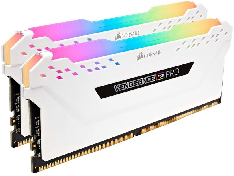 Vengeance RGB Pro White 16GB 3200MHz CL16 DDR4 KIT OF 2 CMW16GX4M2C3200C16W