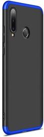 GKK 360 Protection Case For Huawei P30 Lite Black/Blue