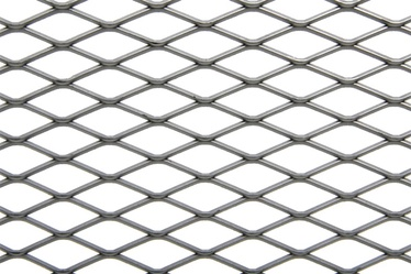 SN Expanded Wire Mesh 1x25m Silver