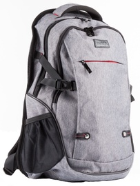 Natec Notebook Backpack ALPACA, 17,3'' Grey