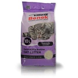 Наполнители для котов Super Benek Lavender, 10 л