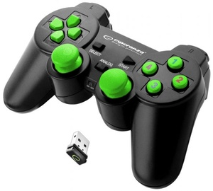 Esperanza Gladiator Wireless Gamepad Black/Green