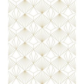 Graham & Brown Vinyl Wallpaper Kabuki 105979 White