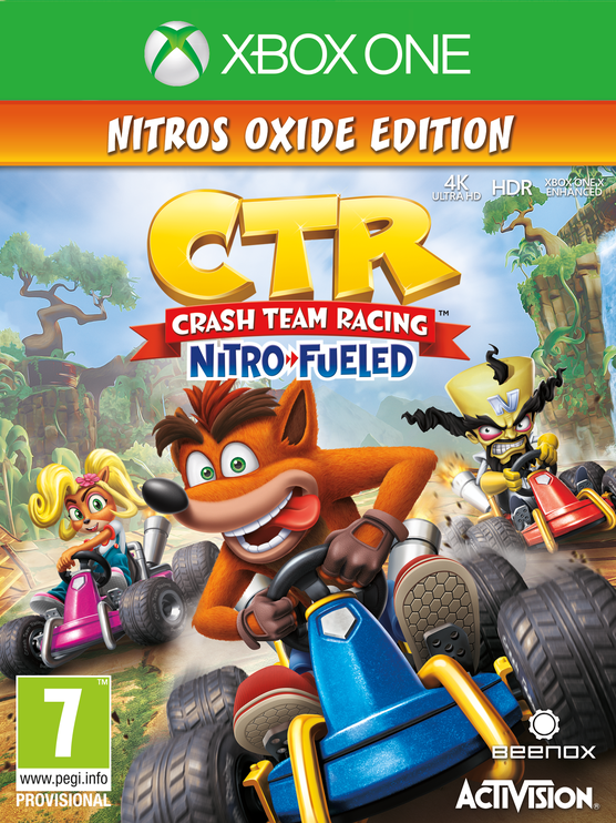 MÄNG CRASH TEAMRACING XBOX ONE