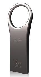 USB mälupulk Silicon Power Jewel J80 Titanium, USB 3.0, 16 GB