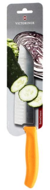 Victorinox Swiss Classic Santoku Knife 17cm Orange Blister