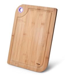 Разделочная доска Fissman Bamboo, коричневый, 280x390 мм