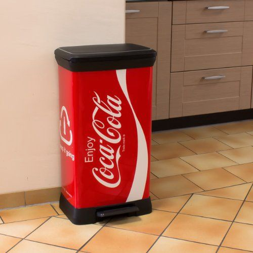 Curver Deco Bin 50l Coca-Cola