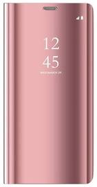 Hurtel Clear View Case For Xiaomi Redmi Note 9 Pink