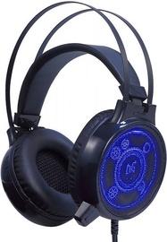 Mänguri kõrvaklapid ForMe Wild Tiger WT-116 Black/Blue