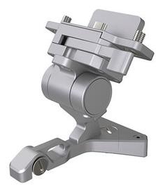 DJI CrystalSky Part 3 Remote Controller Mounting Bracket