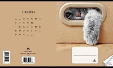 Jānis Roze Line Notebook JR9 18 Pages Cat