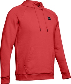 Under Armour Mens Rival Fleece Hoodie 1320736-646 Red XL