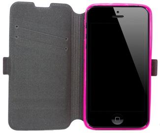 Telone Super Slim Shine Book Case Samsung G530 Galaxy Grand Prime Pink
