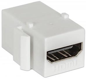 Intellinet HDMI Inline Coupler Keystone White