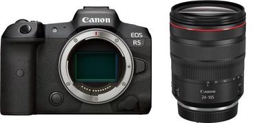 Canon EOS R5 + RF 24-105mm f/4L IS USM Black