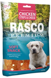 Rasco Dog Premium Snacks Chicken Strips & Cheese 230g
