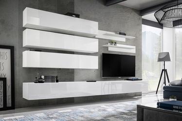 ASM Fly J1 Living Room Wall Unit Set White