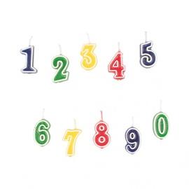 Sünnipäevaküünlad NR.0–9 (552155)