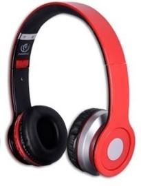 Kõrvaklapid Rebeltec Cristal Red, juhtmevabad