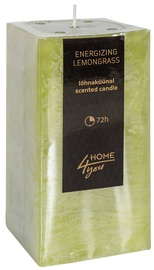 Home4you Candle Energizing Lemongrass 7.5x7.5xH15