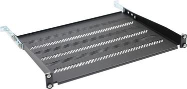 "CATLink 1U 19"" 350mm Shelf Black"