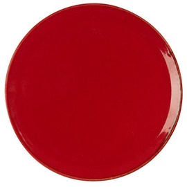 Porland Seasons Pizza Plate D32cm Red